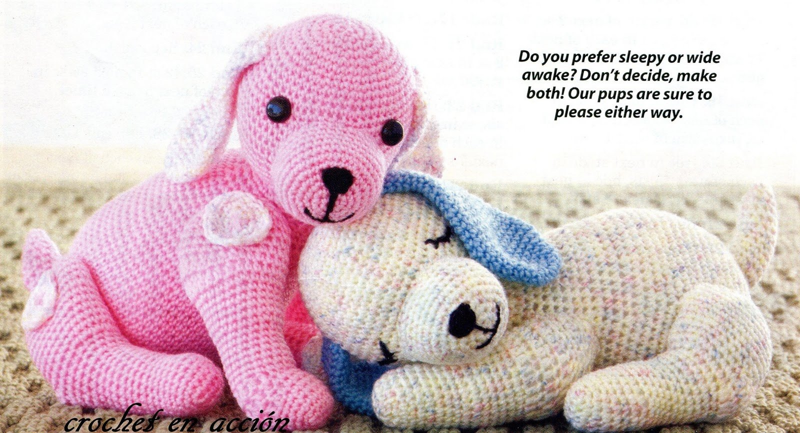 Amigurumi Animals Patterns Free : How to Crochet Amigurumi Dog with Free Pattern