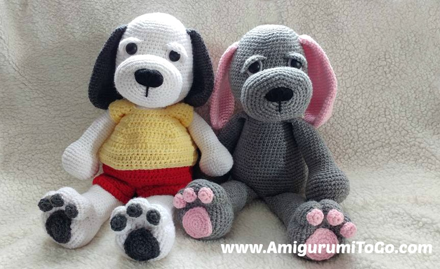 Cuddle Me Puppy FREE Crochet Pattern