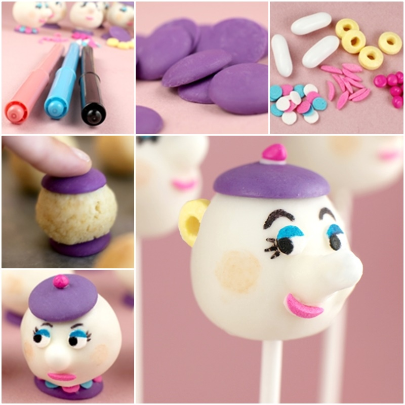 DIY Mrs. Potts Cake Pops for Teapot Party-f