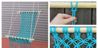 How to Make a Beautiful Macrame Hammock Chair
