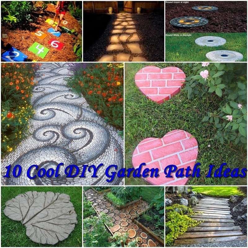 Diy Garden Path Ideas 10 cool diy garden path ideas