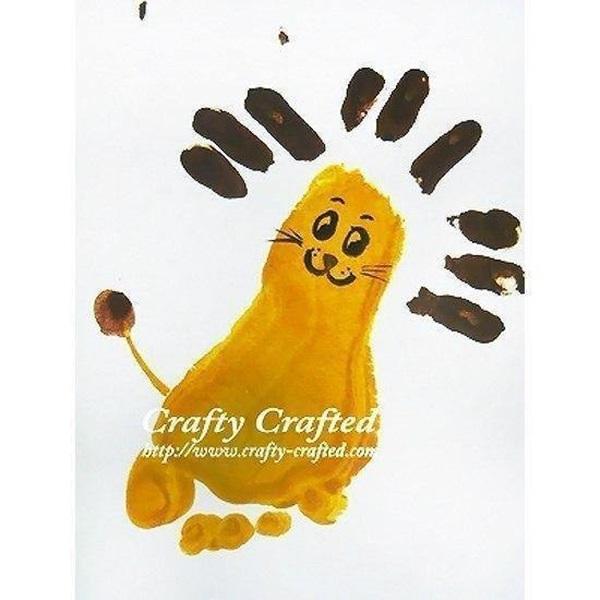 Footprint Art