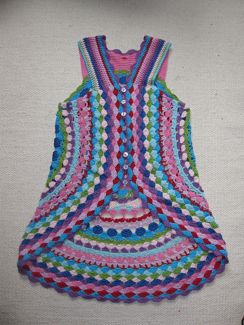 LUL's Flower Power Vest FREE Crochet Pattern