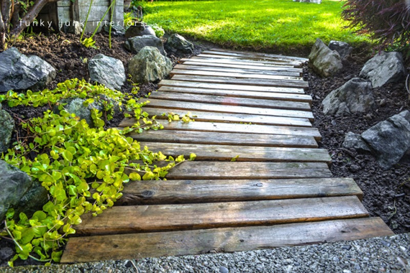 10 Cool Diy Garden Path Ideas