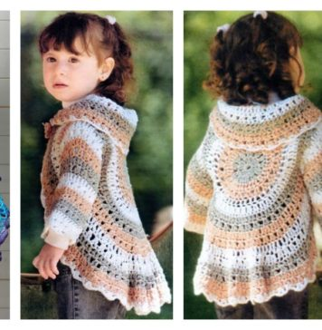 Crochet Pretty Circle Jacket with Pattern