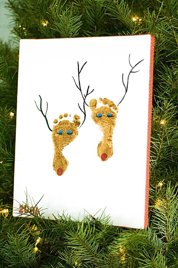 Cool Keepsakes Using Footprint Art Diy Ideas And Projects