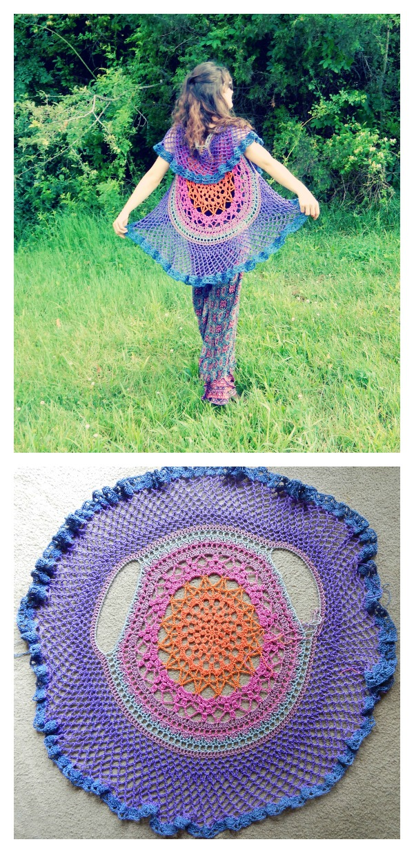 Crochet Pretty Circle Jacket with Pattern - Page 3 of 3