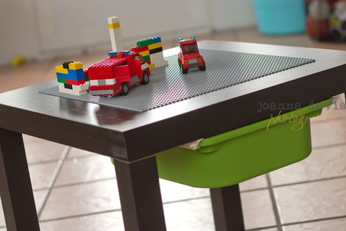 DIY Lego Table from Other Furniture