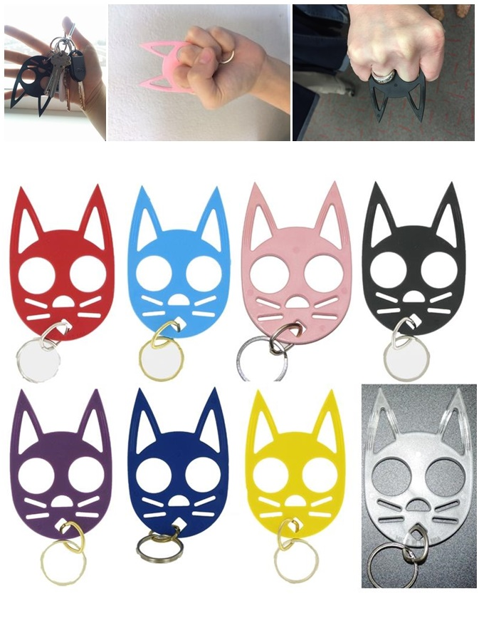 Cool Wild Kats Self Defense Keychain for Ladies