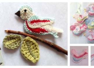 Crochet Little Bird with Free Pattern