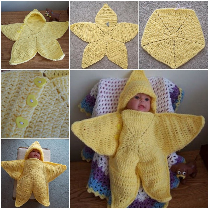 Crochet Twinkle Twinkle Star Bunting With Free Pattern