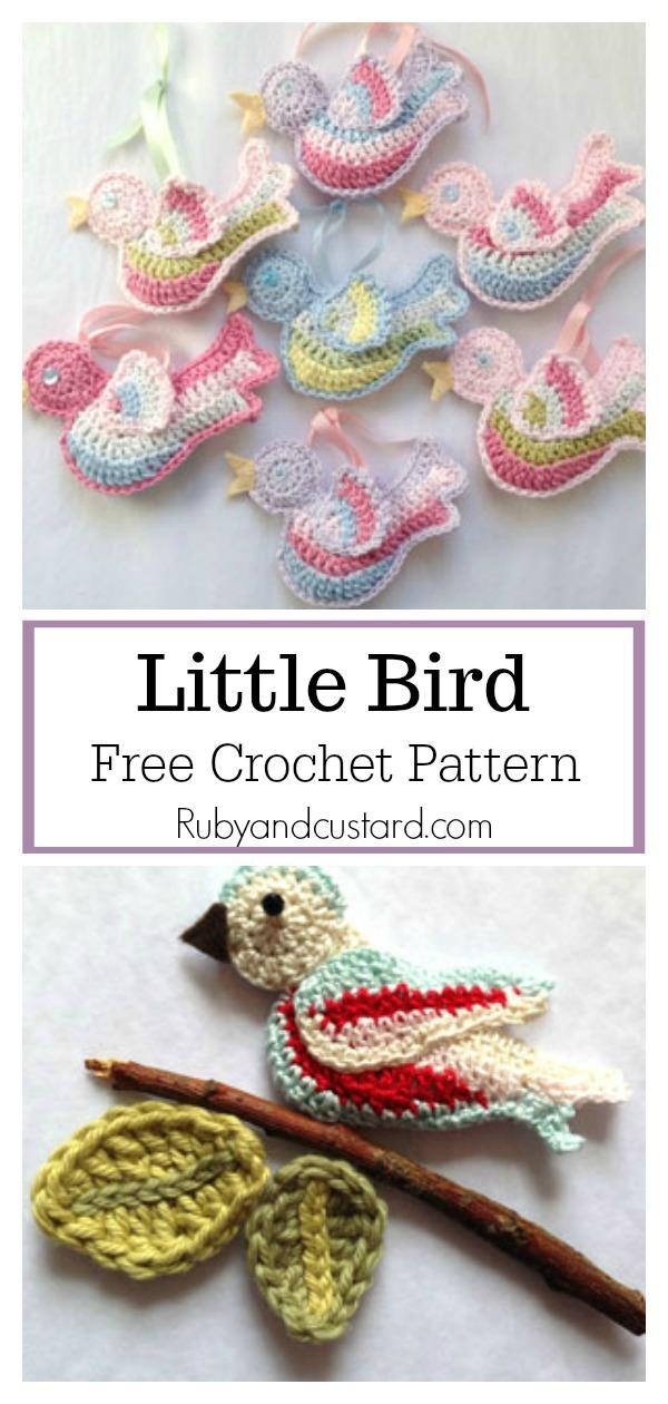 Little Bird Free Crochet Pattern