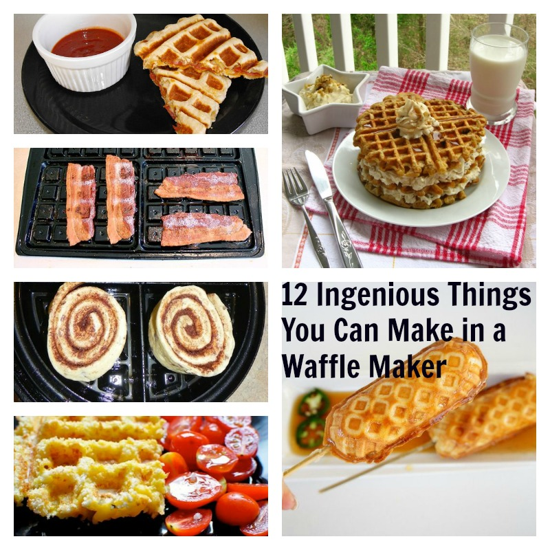 As we all know the Waffle iron was invented to make waffles, well, that may be true but some creative and experimental people have used waffle irons to cook a number of other foods over the years as well. Over at hocalinkz1.ga they have put together a great list of 24 foods you can.