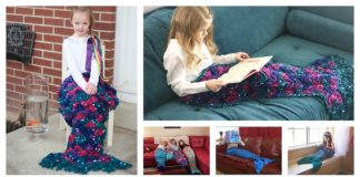 16 Patterns of Crocheting Beautiful Mermaids