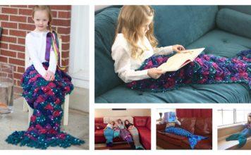 16 Patterns of Crocheting Beautiful Mermaids