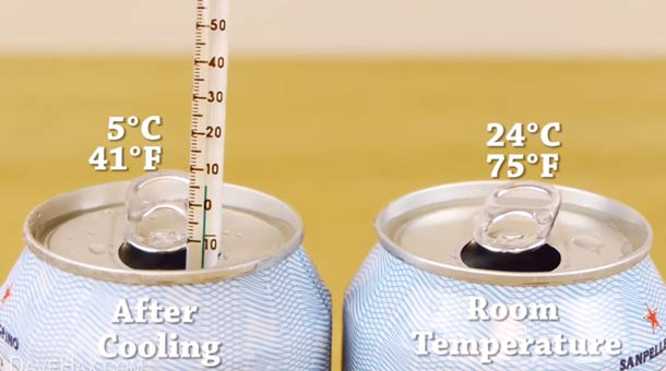 How to Chill a Can of Soda in 2 Minutes
