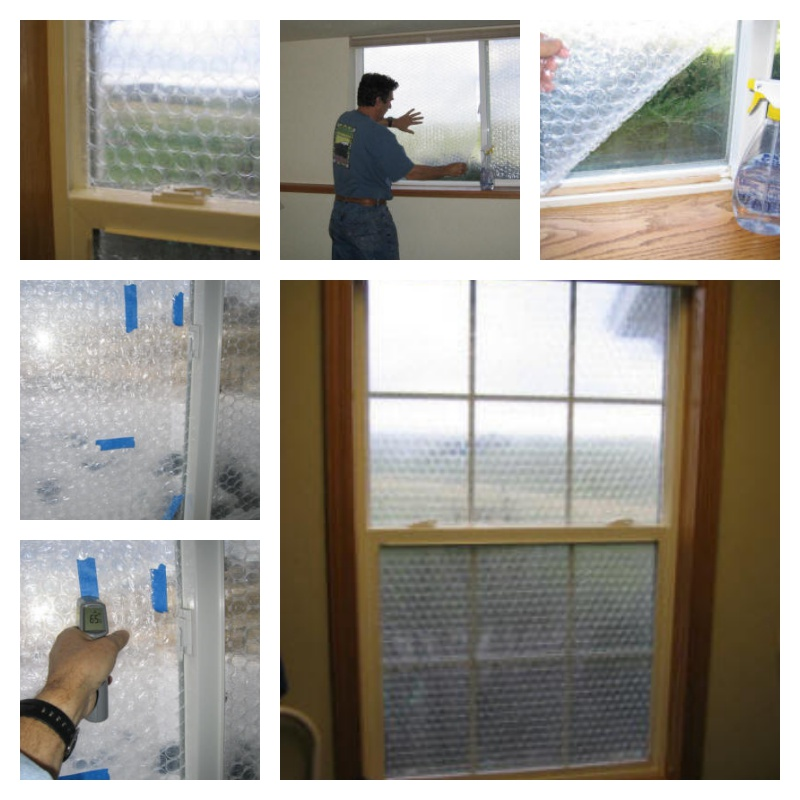 how to use bubble wrap on windows to save on heating bill. Black Bedroom Furniture Sets. Home Design Ideas