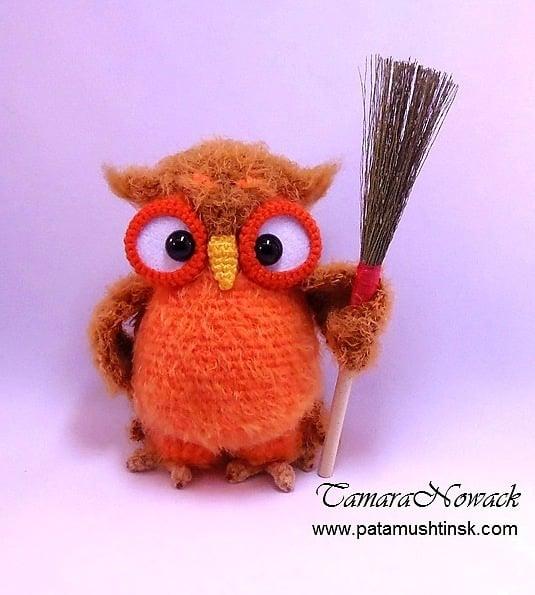 Owl Crochet Patterns by Tamara Nowack 1