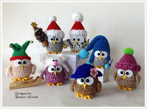 Owl Crochet Patterns by Tamara Nowack 2