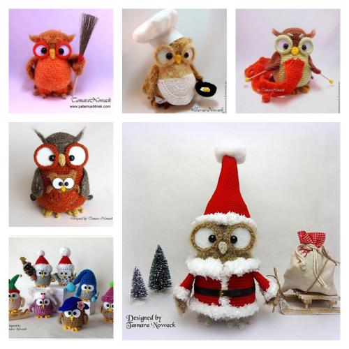 Owl Crochet Patterns by Tamara Nowack 5