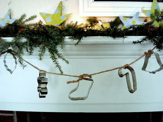 Things You Never Thought to Do With Christmas Cookie Cutters-cookie cutter garland