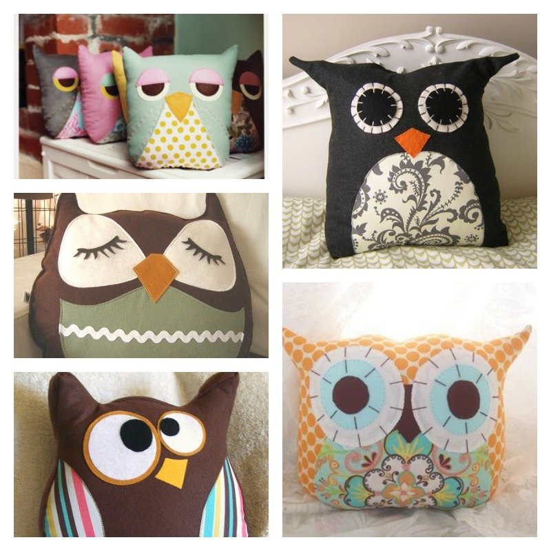 How To Make Cute Owl Pillows : How to Make Cute Owl Pillow