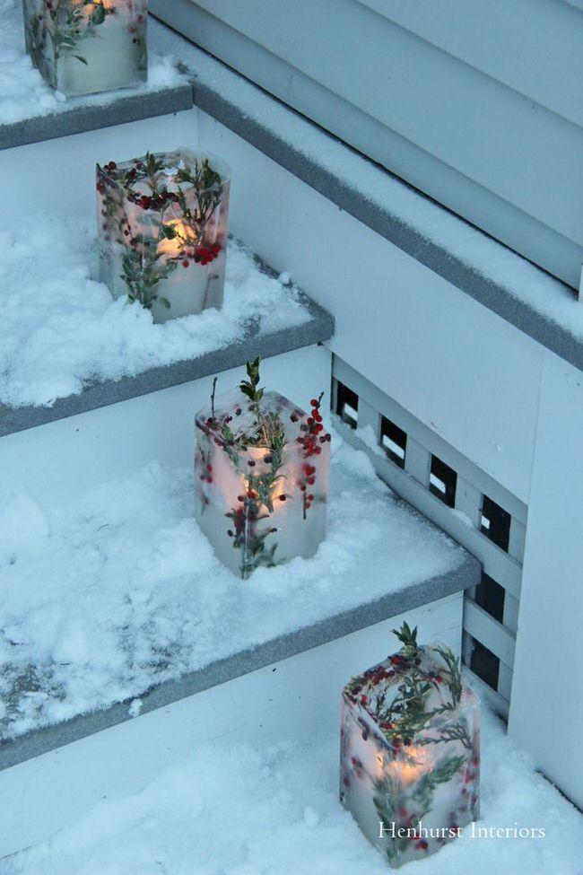Christmas Decorating Ideas Front Yard : Diy front yard christmas decorating projects