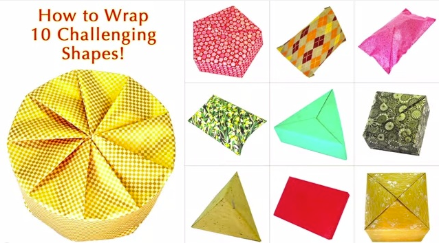 Easy Steps To Help You Wrap 10 Challenging Shapes