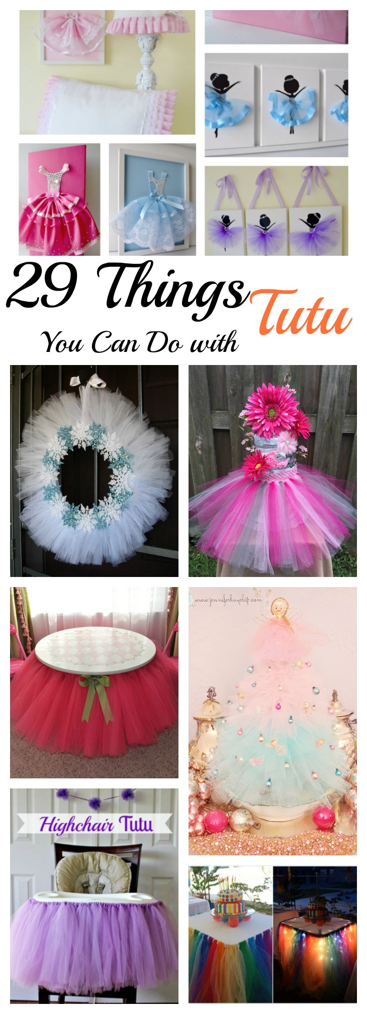 29 Things You Can Do with a Tutu