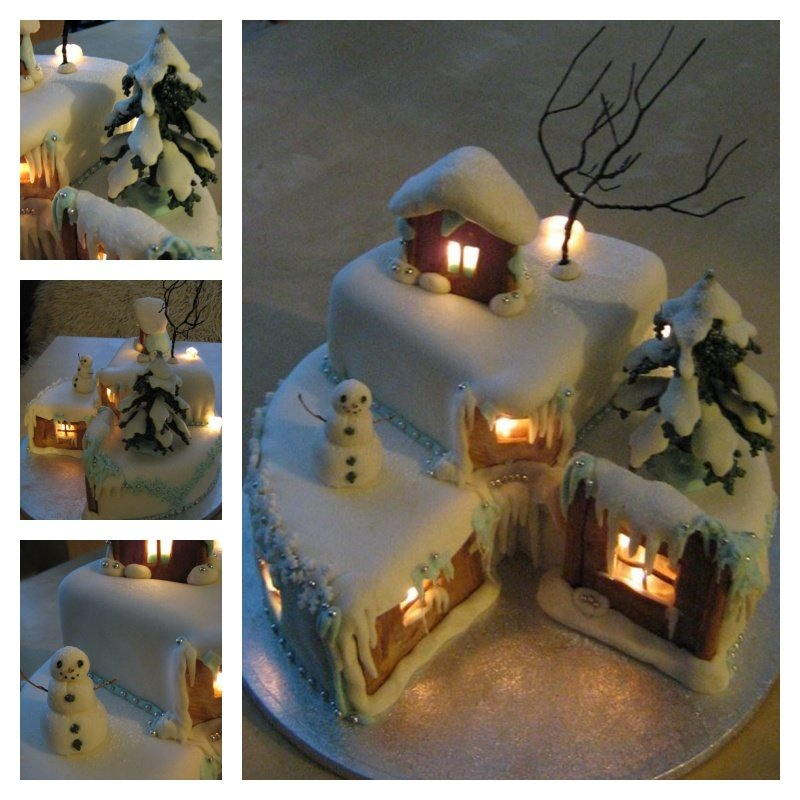 Awesome Christmas Eve Cake Decorating Idea