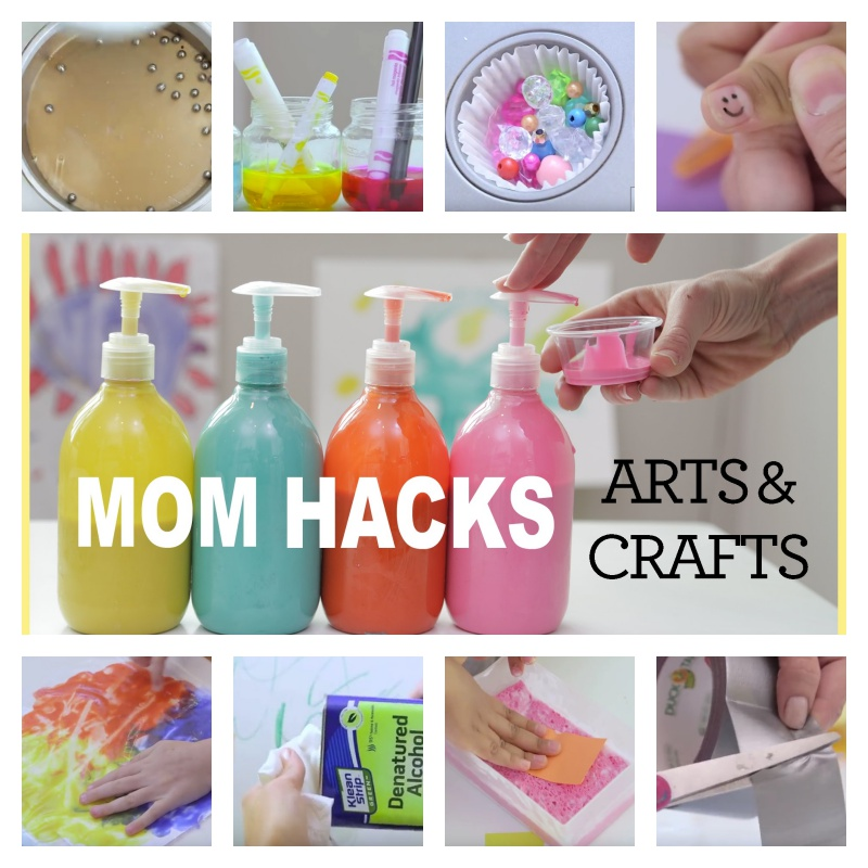 Awesome Mom Hacks Will Make Arts and Crafts So Much More Bearable