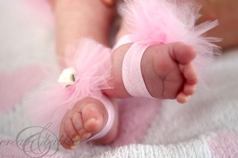 BABY GIRL TUTU SANDALS