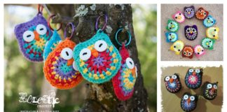 Crochet Baby Owls with Free Pattern