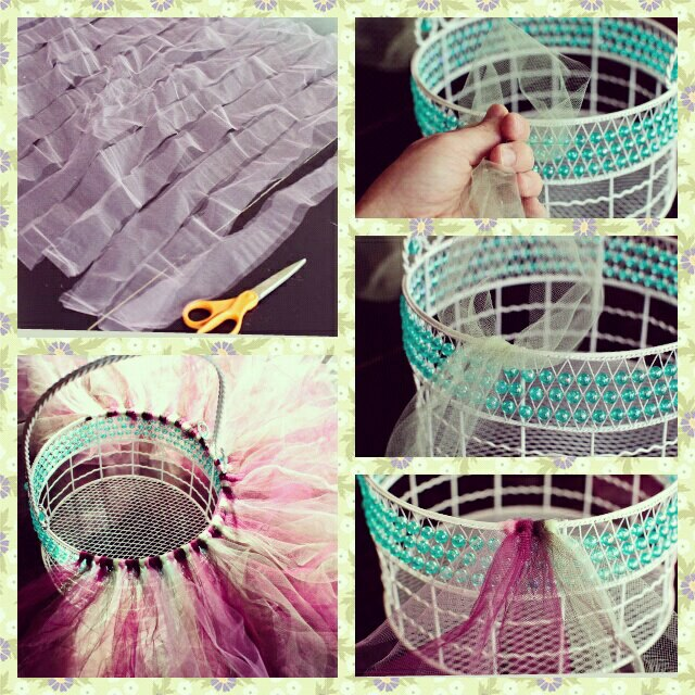 DIY Tutu Easter Baskets