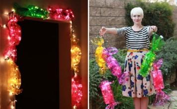 DIY candy lights