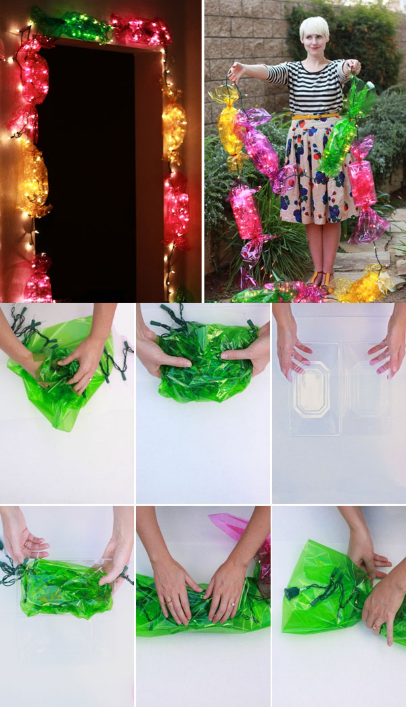 DIY candy lights