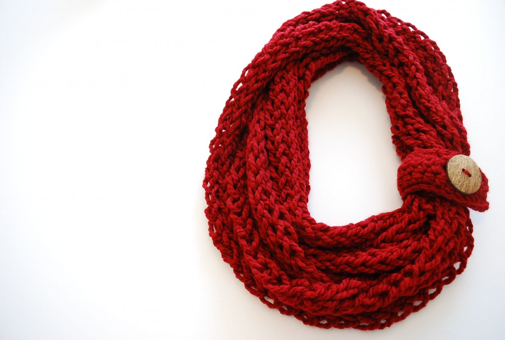 8 Finger Knitting Projects From Knitting Without Needles