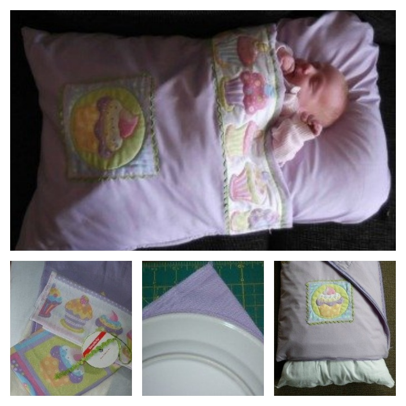 Pillowcase Baby Sleeping Bag.---This baby Snuggle Bag from Two pillow cases, it is easy to make and easy to wash.