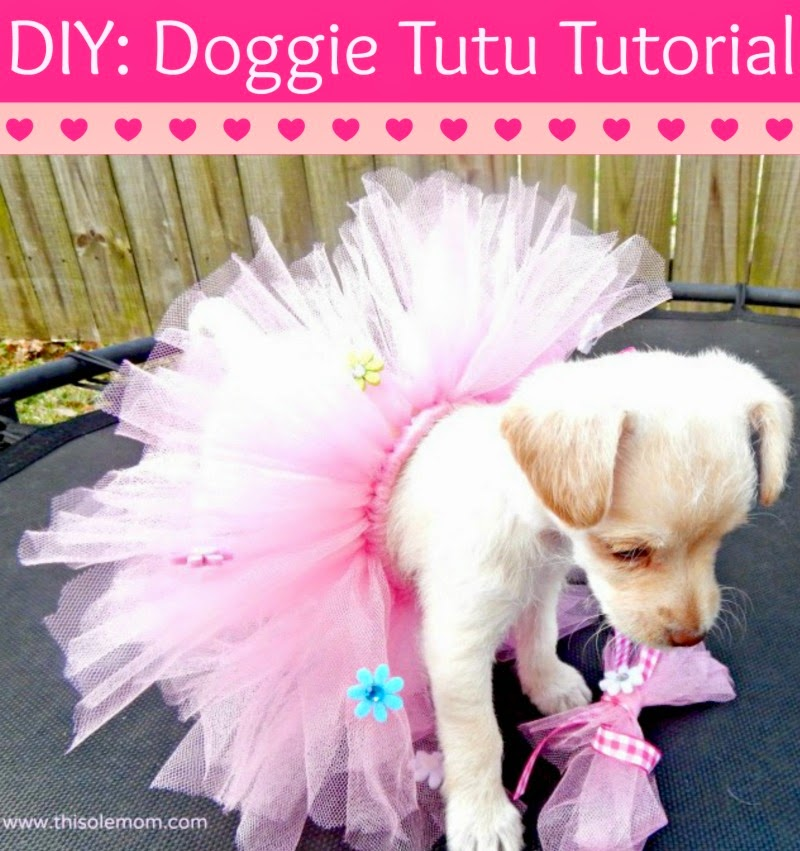 Puppy Tutu Tutorial