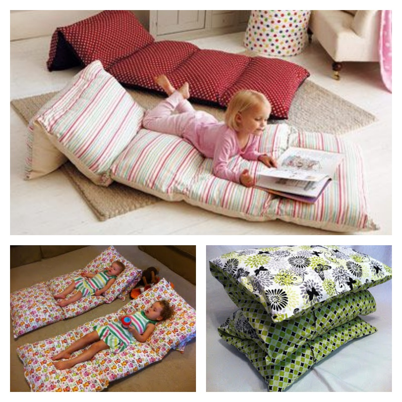 Make Floor Pillows Cushions : Sew Pillowcases Together To Make Floor Cushions
