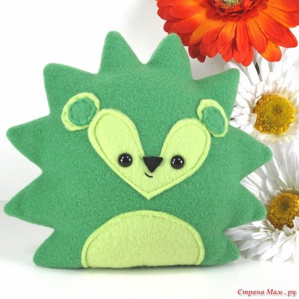 Hedgehog Shaped Pillow