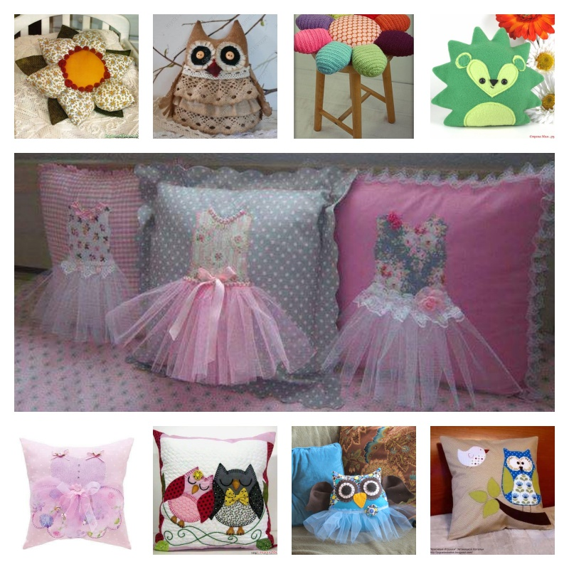 Cute Ideas For Pillowcase Dresses : Cutest DIY Pillow Ideas