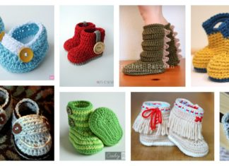Crochet Baby Shoes Ideas and Patterns