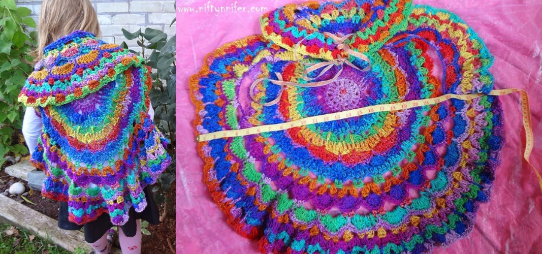 Crochet Pretty Circle vest with Pattern