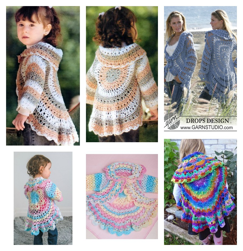 Crochet Surprise Jacket Free Pattern : Baby Surprise Jacket Pinterest - Bronze Cardigan