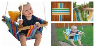 DIY Baby Canvas Swings