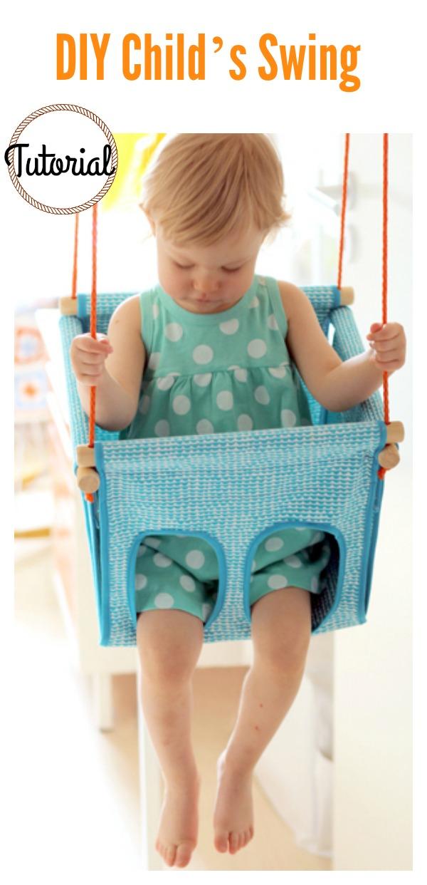 DIY Child's Swing Tutorial