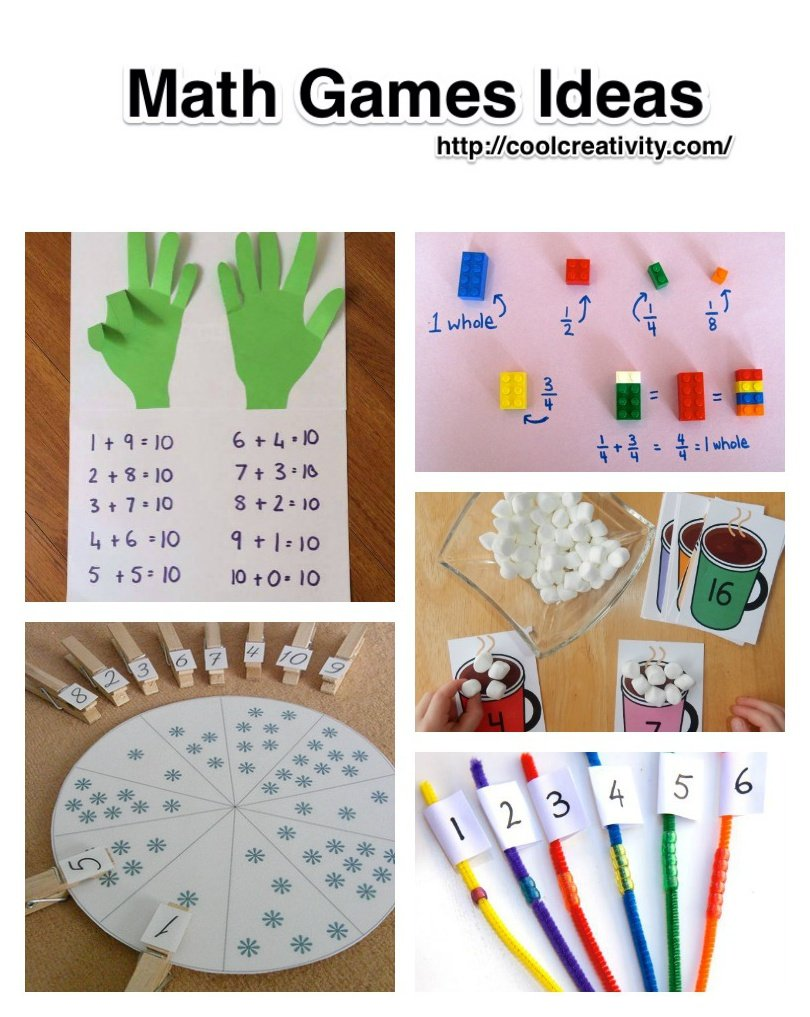 Diy math games ideas to teach your kids in an easy and fun for Cool math games christmas