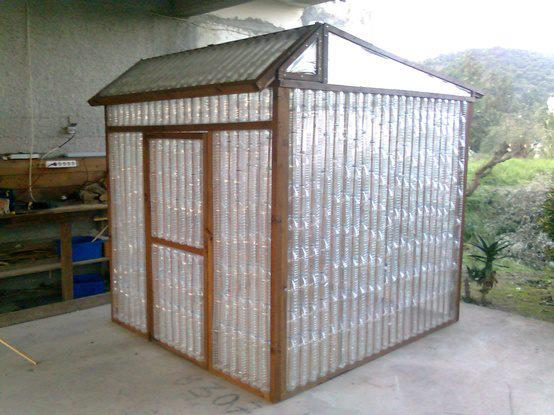 How to Build a Greenhouse Made From Plastic Bottles 4