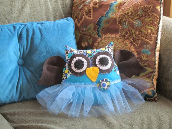 Pillow with cute TuTu dress